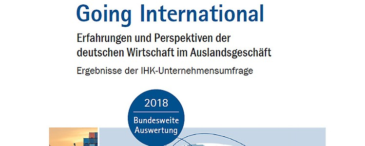 "Unternehmensumfrage ""Going International"""